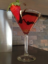 Valentine's martini