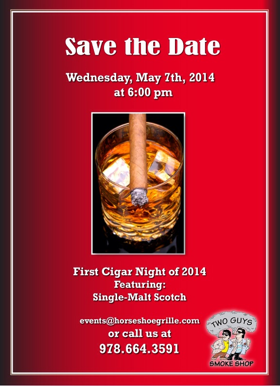 Cigar Night at Horseshoe Grille